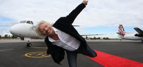 Why Richard Branson Is the Most Popular Entrepreneur in the World   All about Business   Scoop.it