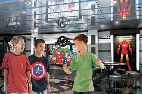 Disney Finds Way to Integrate Marvel's Superheroes into its Resorts: Cruise Ships   Comic Book Trends   Scoop.it