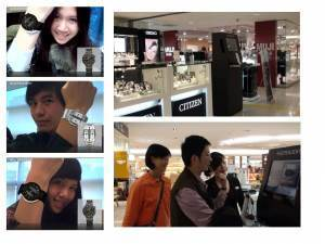 In Store and Online Augmented Fitting Room to Try Citizen Watches « Total Immersion's Augmented Reality Blog | I love beauty | Scoop.it
