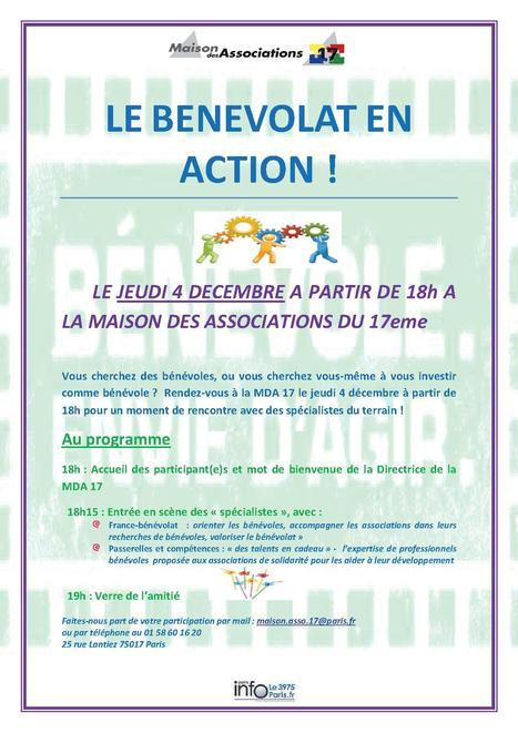Evénements - Café bénévole dans le 17ème arrondissement | Le quotidien de P&C | Scoop.it