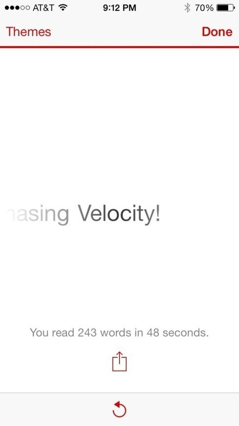 Velocity review: learn how to read faster than ever before | International_MBAs | Scoop.it