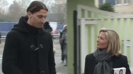 VIDEO. Zlatan Ibrahimovic : l'interview racontée par Claire Chazal ... | ___Sport(s)___ | Scoop.it