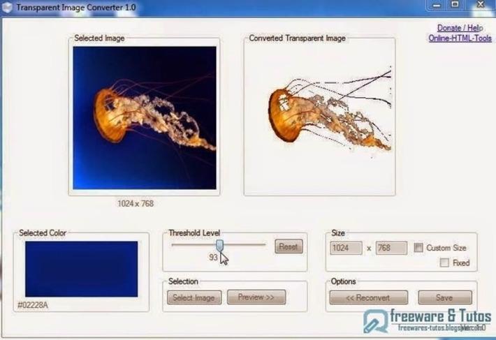Transparent Image Converter : un logiciel gratuit pour convertir une image en image avec fond transparent | TIC et TICE mais... en français | Scoop.it