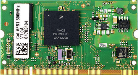 Toradex Colibri VF50/VF61 SoMs Powered by Freescale Vybrid SoCs Sell for as Low as 19 Euros   Embedded Systems News   Scoop.it