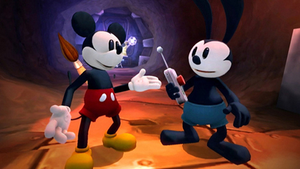 Epic Mickey 2: The Power of Two behind-the-scenes trailer talks story telling | Transmedia: Storytelling for the Digital Age | Scoop.it