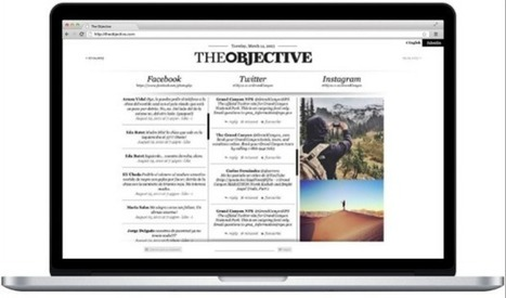 The Objective, un nuevo medio online que apuesta por lo visual y lo social | Publicidad en México | Scoop.it
