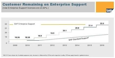 SAP Standard Support price rise: why now ?   Recrutement de spécialistes SAP   Scoop.it