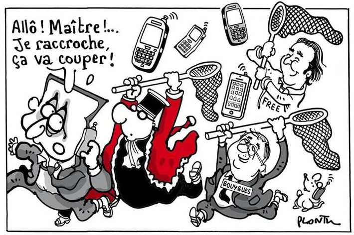 Sarkozy et la téléphonie   Baie d'humour   Scoop.it