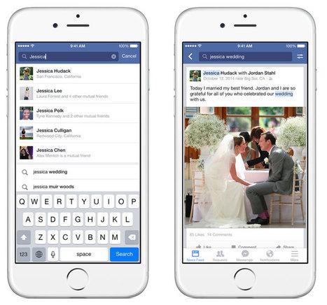 Facebook Search : la recherche par mots-clés est désormais possible ! | Réseaux sociaux | Scoop.it
