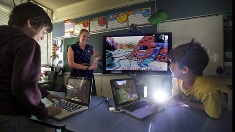 Teachers re-evaluate value of video games | Digital Play | Scoop.it