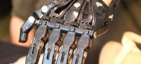 Una mano protésica de 36 € hecha con una impresora 3D sustituye a otra que costaba más de 30.000 | LOLA Curiosity | Scoop.it