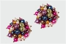 Milan multi color cluster shoe clips | Shoe Clips - Shoe Accessories - Shoe Jewelry | Scoop.it