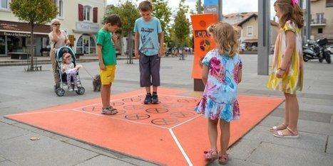 Anglet : la nouvelle aire de jeux interactive séduit les enfants | BABinfo Pays Basque | Scoop.it