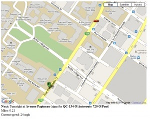 Google Maps script: Live step by step directions | CEREGeo - Geomática | Scoop.it