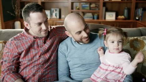 VIDEO: Gay Dads Share Heartwarming Story of Love at First Sight in Hallmark Valentine's Day Ad | Gay Relevant | Scoop.it