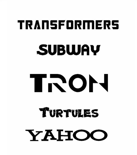 Download Most Famous Brand Logo fonts [Freebies] | Lava360 | Technology and Gadgets | Scoop.it