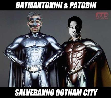 Twitter / RasViulenza: #BATMAN @OfficialAnto_77 & ... | Inside Batman | Scoop.it