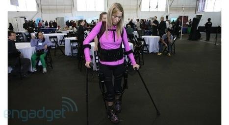Ekso Bionics' robotic suit eyes-on (video) | Robotic Suits | Scoop.it