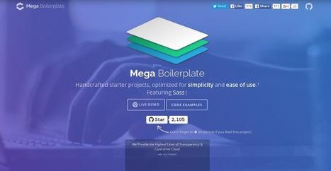 Gagnez du temps au démarrage de votre projet Javascript avec Mega Boilerplate | WEB : ressources et infos | Scoop.it
