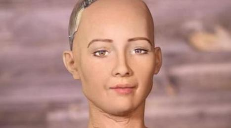 Sofía, la robot humanoide creada para ayudar a la humanidad… ¿o destruirla? | Managing Technology and Talent for Learning & Innovation | Scoop.it