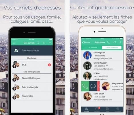 Dizzit. Les carnets d'adresses partagés - Les Outils Collaboratifs | Les outils du Web 2.0 | Scoop.it