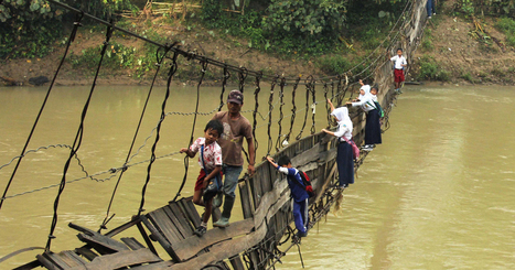25 Of The Most Dangerous And Unusual Journeys To School In The World | Professional Learning and Development | Scoop.it