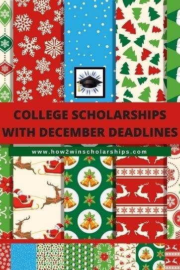 College Scholarships with December Deadlines | College Scholarships | Scoop.it