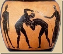 The Pentathlon: Rowdy Ancient Wrestling - Ancient History Blog | Ancient History- New Horizons | Scoop.it