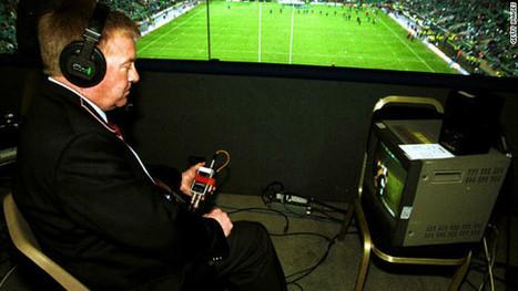 Technologische hulpmiddelen in het voetbal. de videoscheidsrechter | ICT topics & showcases | Scoop.it