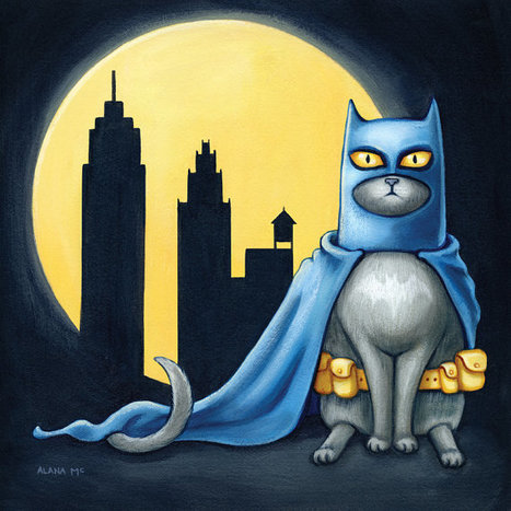 Batcat by Allana McCarthy | Art, photography, design, tech, culture & fashion | Scoop.it