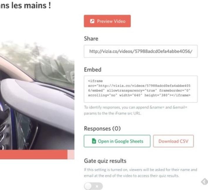 Vizia. Intégrez quiz et sondages dans vos vidéos – Les Outils Tice | TIC et TICE mais... en français | Scoop.it