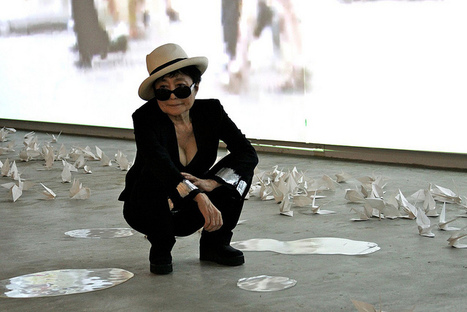 [photo] Yoko Ono: Sur la route de l'espoir | yokoonoofficial | Japon : séisme, tsunami & conséquences | Scoop.it