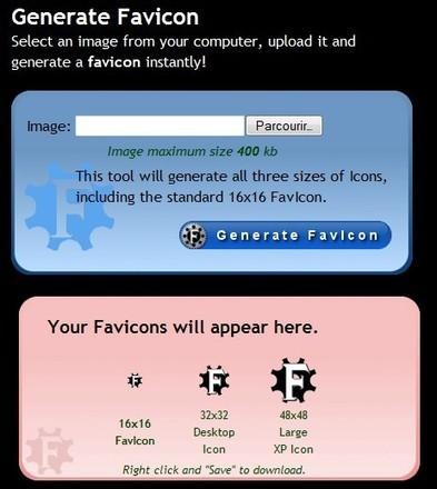 Générateur de FavIcon pour votre site ou blog | Time to Learn | Scoop.it