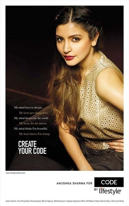 Anushka Sharma for Code by Lifestyle, Anushka Sharma Magazine Pictures Online IndianRamp.com, Actress, Bollywood, Western Dresses | Indian Fashion Updates | Scoop.it