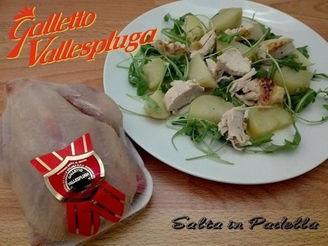 "Insalata di Galletto patate rucola e citronette | Salta In Padella "" la cucina facile per tutti "" 