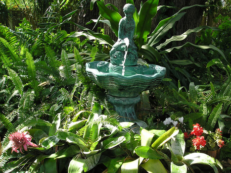 Fountains In The Garden – Information For Creating Garden Fountains | Turf Maintenance | Scoop.it