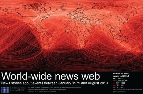 Information Geographies » World-wide news web | #dataviz #SNA | e-Xploration | Scoop.it