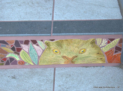 Tiled Stairways to Heaven » Art and Architecture - San Francisco | Hidden Garden Steps | Scoop.it