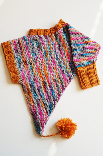 Free pattern: Udda poncho | Knitting for everyday comfort and delight | Scoop.it