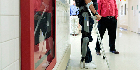 "This Computerized Exoskeleton Could Help Millions of People Walk Again | Business | WIRED | L'impresa ""mobile"" 
