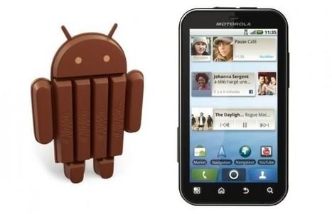 Motorola Defy : Android 4.4 KitKat arrive en alpha - FrAndroid | Applications Mobile | Scoop.it