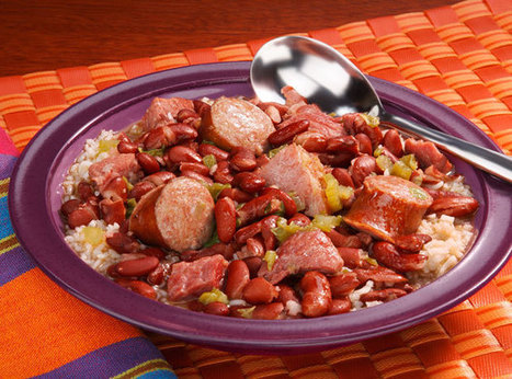 Red Beans and Rice - Good Food Good Friends | Food Porn | Scoop.it