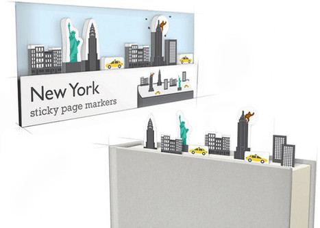 These witty page markers make your books look like something else | Inspired By Design | Scoop.it