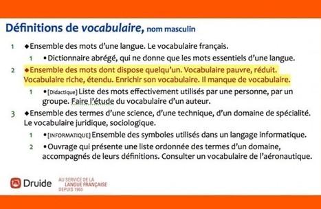 Maudit vocabulaire ! | Le blogue du leadership | Humanisme | Scoop.it