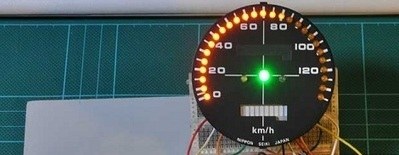 Digital speedometer with an arduino | digital speedometer using rassberry pi | Scoop.it