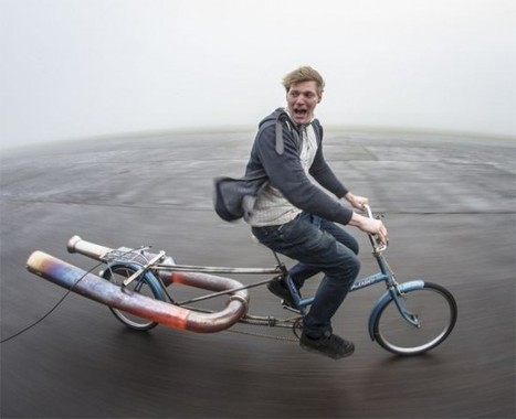 Norah – Probably the World's Most Dangerous Bicycle | Strange days indeed... | Scoop.it
