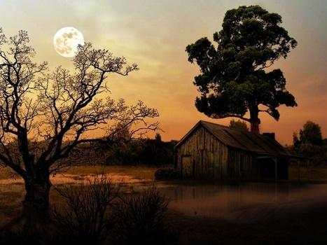 Луна на рассвете | FreeSharePhotos | Free Share Photos | Scoop.it