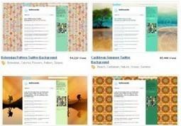 8 sites pour télécharger des themes gratuits pour Twitter | Geekaison | Mon cyber-fourre-tout | Scoop.it