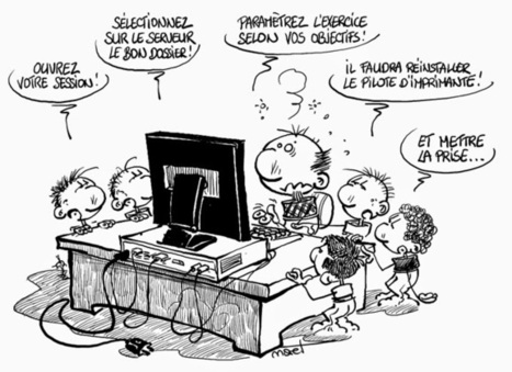 Partageons l'addiction: L'informatique à l'école | 2-Le numérique à l'école | Scoop.it