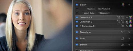 The last set of five free FCPX color grading tutorials - fcp.co   Film Maker   Scoop.it